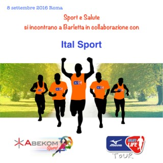 Mizuno Run Life Roma, Abekom sport, Naturaid, Force Crownhealth